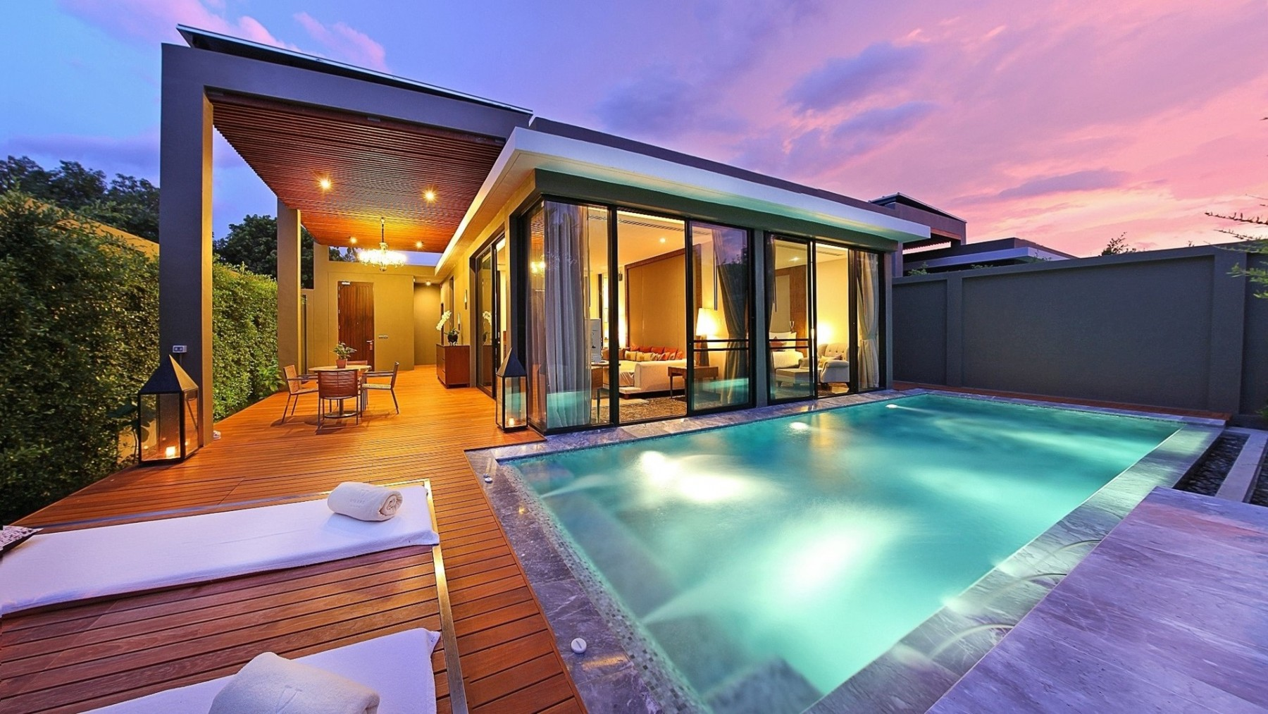 5 Bedroom Floor Plans 1 Story V Villas Hua Hin พูล วิลล่าแบบ 1 ห้องนอน